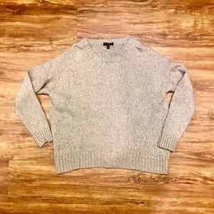 J.crew knit sweater wool blend